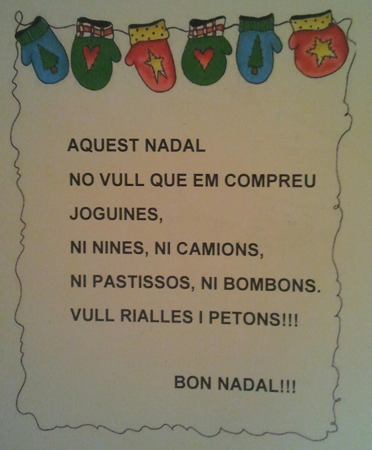 #Recursos Dita:Aquest Nadal…