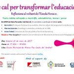 @MRPGarraf i #MRPBaixPenedès organitzen taula rodona sobre @EscolaNova21