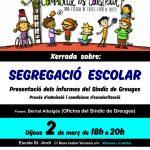 Xerrada de Segregació escolar, a Vilanova i la Geltrú