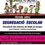 #debatmestre Xerrada Segregació escolar Dijous, 18h Vilafranca del Penedès
